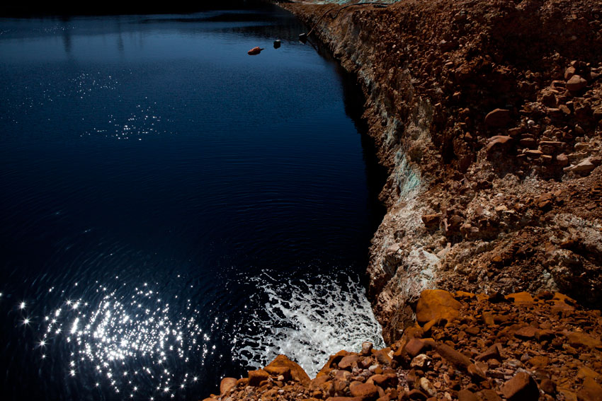 Old Open Cut at Redbank Mine, © Jessie Boylan / MPI 2011
