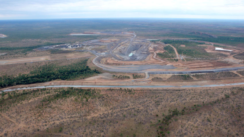 McArthur River Diversion, July 2010 © MPI / 2010
