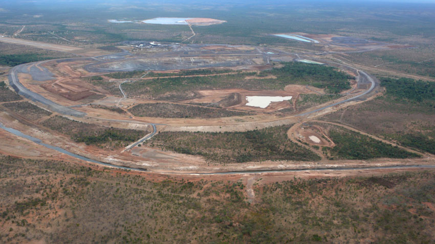 McArthur River Diversion, July 2010  MPI / 2010