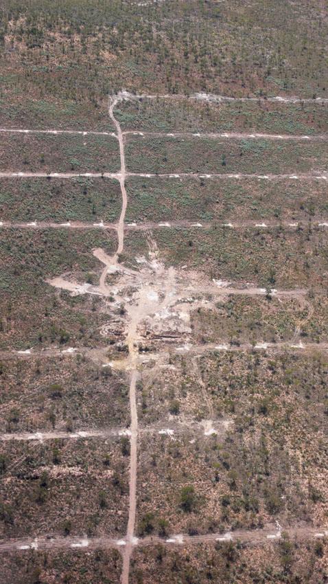 Aerial view of Merlin Diamond Mine, © MPI / 2010