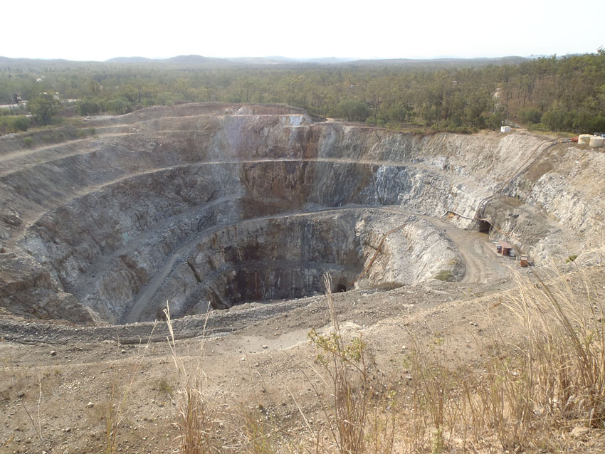 Mt. Garnet Zinc Mine, Queensland, © MPI / 2011