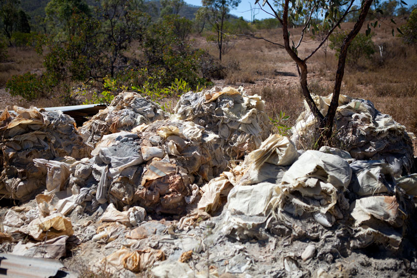 Leftovers of the abandoned All Nations Mine, Queensland, © Jessie Boylan / MPI 2011