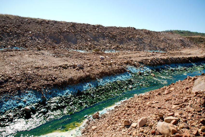 Redbank Mine, © Phoebe Barton / MPI 2011