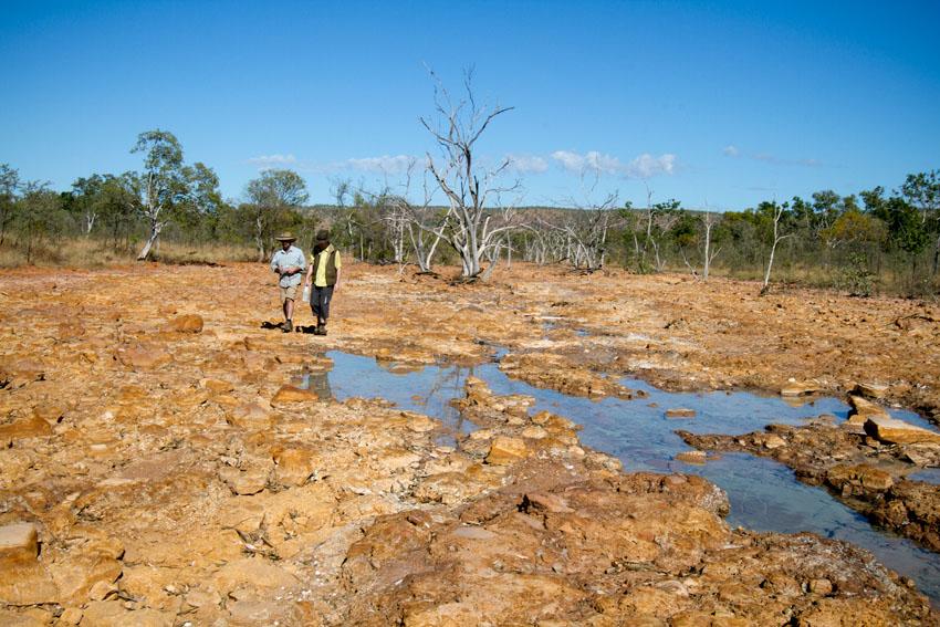 Near Redbank Mine, © Phoebe Barton / MPI 2011