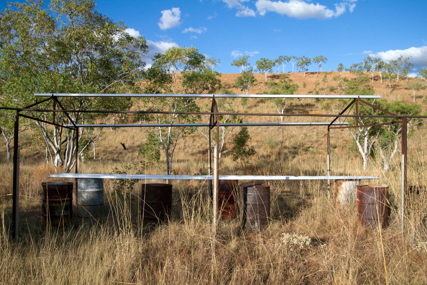 Remnants of Eva, a former uranium mine in the Northern Territory, © Phoebe Barton / MPI 2011