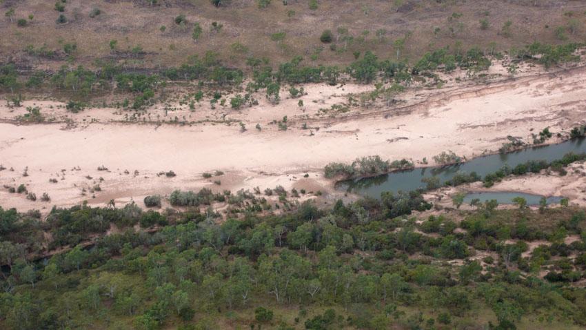McArthur River Diversion, July 2010 © MPI / 2010