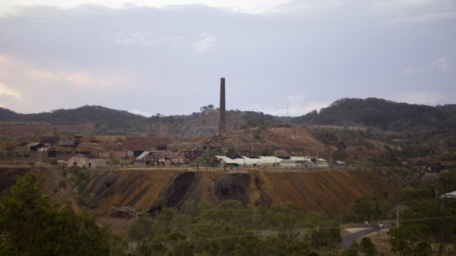 Mount Morgan Mine, QLD