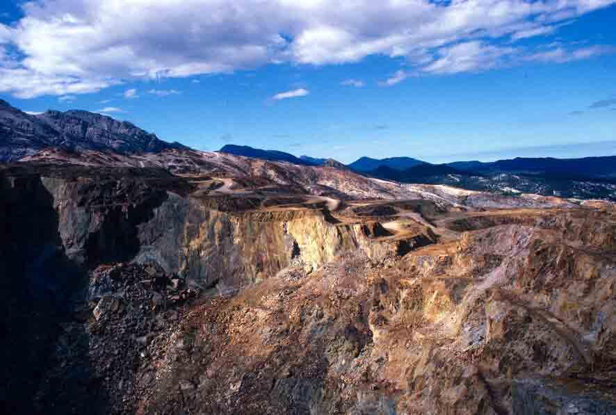 Mt Lyell mine
