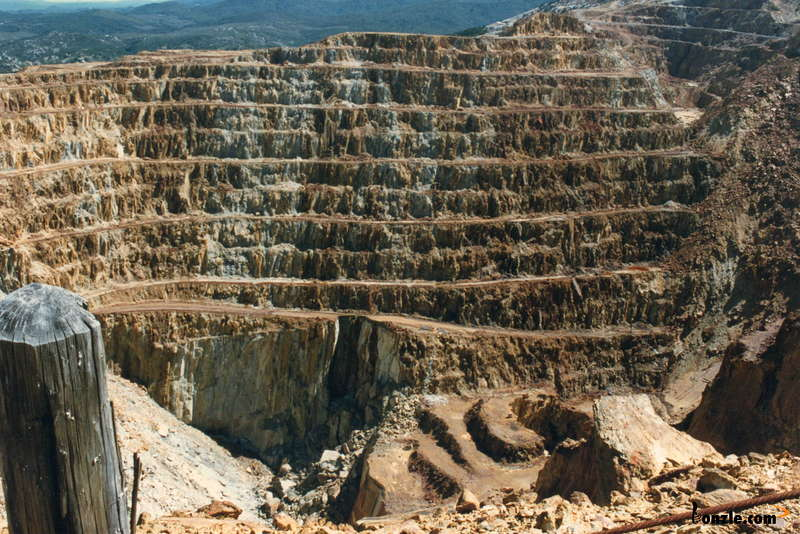 Mt Lyell open pit
